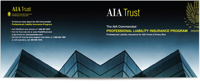 The AIA Trust Product brochure