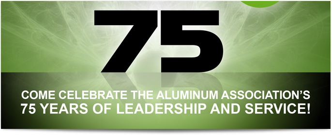 The Aluminum Association Event promotional materials