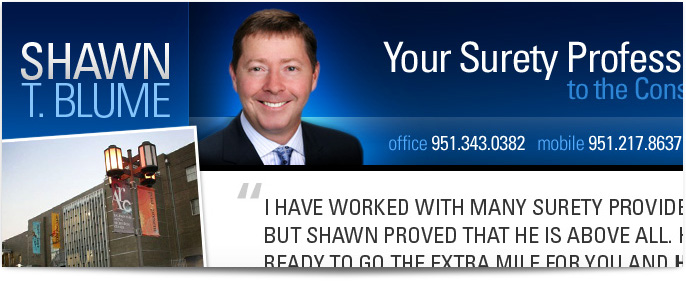 Shawn Blume website design