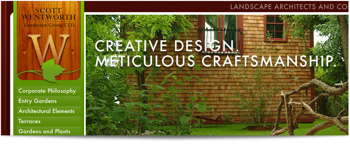 Wentworth Landscape Website redesign
